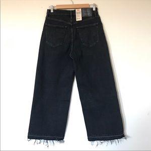 Levi's Jeans - Levi's mile high wide leg cropped denim NWT